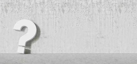 White question mark concrete Wall - FAQ Concept : Stock Photo or Stock Video Download rcfotostock photos, images and assets rcfotostock | RC-Photo-Stock.:
