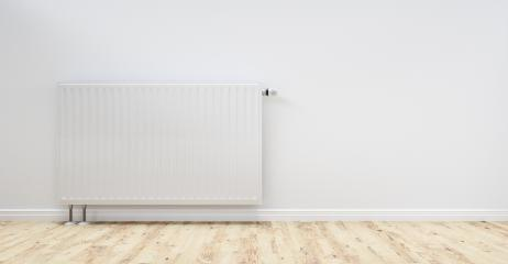 White radiator in an apartment, including copy space - 3D Rendering : Stock Photo or Stock Video Download rcfotostock photos, images and assets rcfotostock | RC-Photo-Stock.: