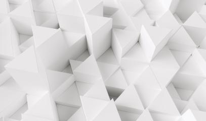 White triangular abstract background, Grunge surface - 3d rendering - Stock Photo or Stock Video of rcfotostock | RC-Photo-Stock