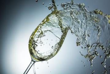 White wine splash in a glass- Stock Photo or Stock Video of rcfotostock | RC-Photo-Stock