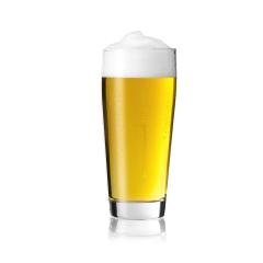Willi cup beer glass pilsner golden with foam crown and drops of condensation dew altbier on white background- Stock Photo or Stock Video of rcfotostock   RC-Photo-Stock