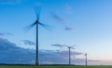 wind farm at sunset with cloudy sky : Stock Photo or Stock Video Download rcfotostock photos, images and assets rcfotostock | RC-Photo-Stock.: