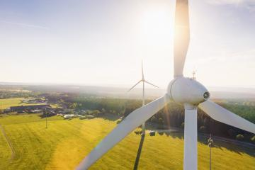 Wind Turbines Windmill Energy at sunset- Stock Photo or Stock Video of rcfotostock | RC-Photo-Stock