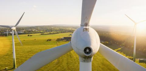 Wind Turbines Windmill Energy, banner size- Stock Photo or Stock Video of rcfotostock | RC-Photo-Stock