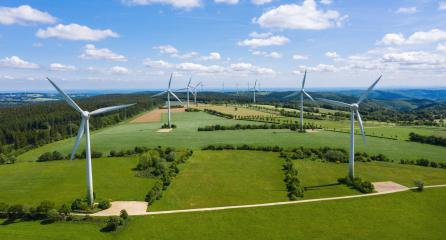 windmills on the field with clouds- Stock Photo or Stock Video of rcfotostock | RC-Photo-Stock