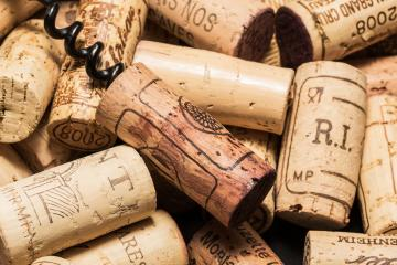 Wine corks with corkscrew : Stock Photo or Stock Video Download rcfotostock photos, images and assets rcfotostock | RC-Photo-Stock.: