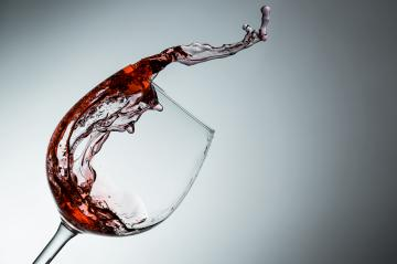 Wine splashes out of the glass- Stock Photo or Stock Video of rcfotostock | RC-Photo-Stock