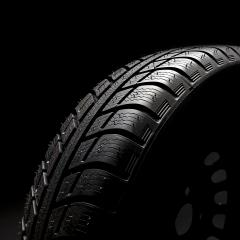 Winter Car tires close-up wheel profile structure on black background- Stock Photo or Stock Video of rcfotostock | RC-Photo-Stock