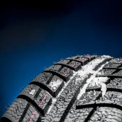 Winter Car tires with snow close-up wheel profile structure on black blue background : Stock Photo or Stock Video Download rcfotostock photos, images and assets rcfotostock | RC-Photo-Stock.: