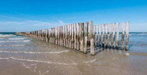 wooden breakwater panels at the beach- Stock Photo or Stock Video of rcfotostock | RC-Photo-Stock