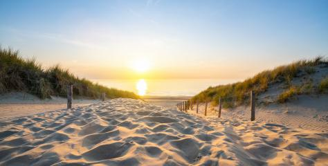 Wooden path at Baltic sea over sand dunes with ocean view, sunset summer evening : Stock Photo or Stock Video Download rcfotostock photos, images and assets rcfotostock | RC-Photo-Stock.: