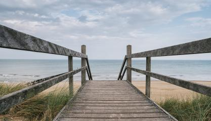 Wooden path at Baltic sea over sand dunes with ocean view with d : Stock Photo or Stock Video Download rcfotostock photos, images and assets rcfotostock | RC-Photo-Stock.: