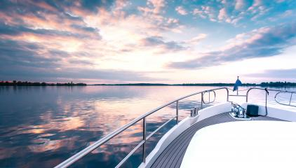 yacht deck in sunset : Stock Photo or Stock Video Download rcfotostock photos, images and assets rcfotostock | RC-Photo-Stock.: