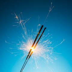 year change sparklers- Stock Photo or Stock Video of rcfotostock | RC-Photo-Stock