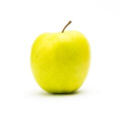 yellow apple on white : Stock Photo or Stock Video Download rcfotostock photos, images and assets rcfotostock | RC-Photo-Stock.: