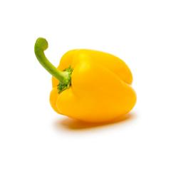 yellow pepper on white- Stock Photo or Stock Video of rcfotostock | RC-Photo-Stock