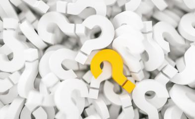 yellow question mark on a background of white question marks.- Stock Photo or Stock Video of rcfotostock | RC-Photo-Stock
