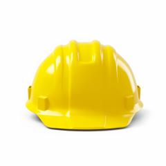Yellow safety helmet on white background. 3D rendering- Stock Photo or Stock Video of rcfotostock | RC-Photo-Stock