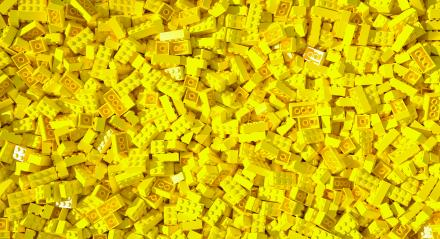 yellow toy bricks background - concept image - 3D Rendering- Stock Photo or Stock Video of rcfotostock | RC-Photo-Stock