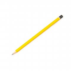 yellow wooden pencil, isolated on white background- Stock Photo or Stock Video of rcfotostock | RC-Photo-Stock