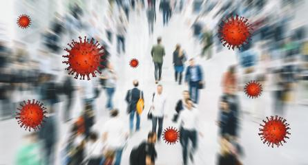 Zoom on anonymous crowd in the Mass become infected with coronavirus- Stock Photo or Stock Video of rcfotostock | RC-Photo-Stock