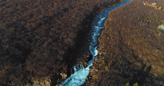 aerial shot of famous Iceland with its beautiful fascinating unique landscape, rivers, mountains, glaciers and waterfalls on a clear sunny day - great 4k shots for nature travel bloggers- Stock Photo or Stock Video of rcfotostock | RC-Photo-Stock