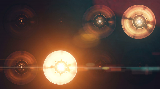 Bright orange floodlights turning on and off- Stock Photo or Stock Video of rcfotostock   RC-Photo-Stock