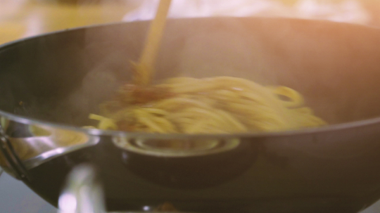 preparing and cooking spaghetti bolognese in home kitchen- Stock Photo or Stock Video of rcfotostock | RC-Photo-Stock