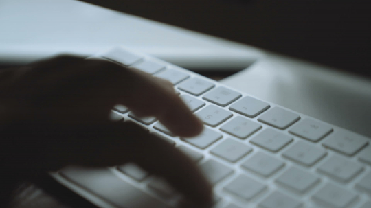 very close Close-up hands typing password on keyboard in office - business people- Stock Photo or Stock Video of rcfotostock   RC-Photo-Stock