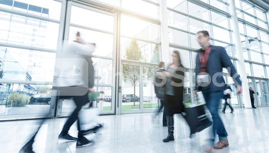 business people at a trade fair  : Stock Photo or Stock Video Download rcfotostock photos, images and assets rcfotostock | RC-Photo-Stock.:
