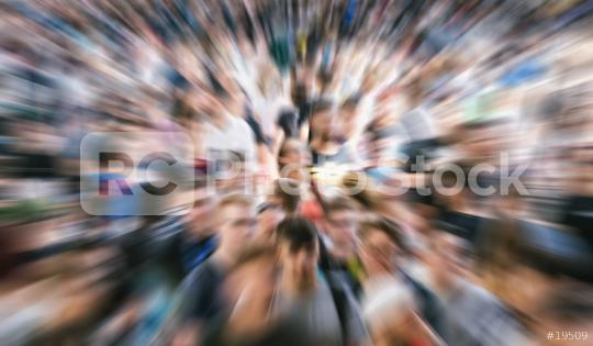 Zoom auf hektische Menschen und Leute auf Messe   : Stock Photo or Stock Video Download rcfotostock photos, images and assets rcfotostock | RC-Photo-Stock.: