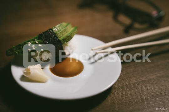 24746726-sashimi-sushi-roll-with-avocado-on-ceramic-plate-with  : Stock Photo or Stock Video Download rcfotostock photos, images and assets rcfotostock | RC-Photo-Stock.: