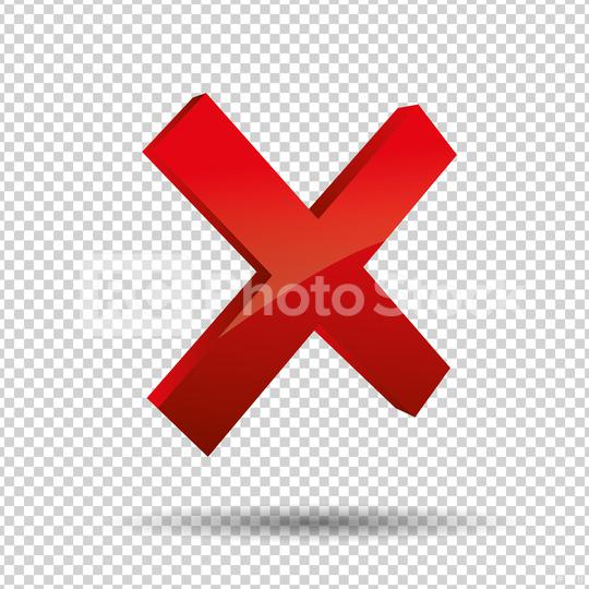 3D Cross sign elements on checked transparent background. Mark g  : Stock Photo or Stock Video Download rcfotostock photos, images and assets rcfotostock   RC-Photo-Stock.: