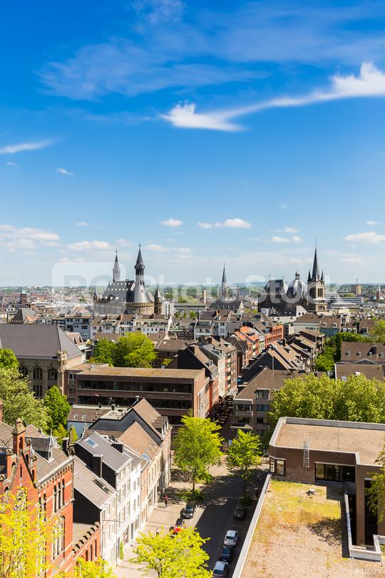 aachen (Aix-la-Chapelle) at summer  : Stock Photo or Stock Video Download rcfotostock photos, images and assets rcfotostock | RC-Photo-Stock.: