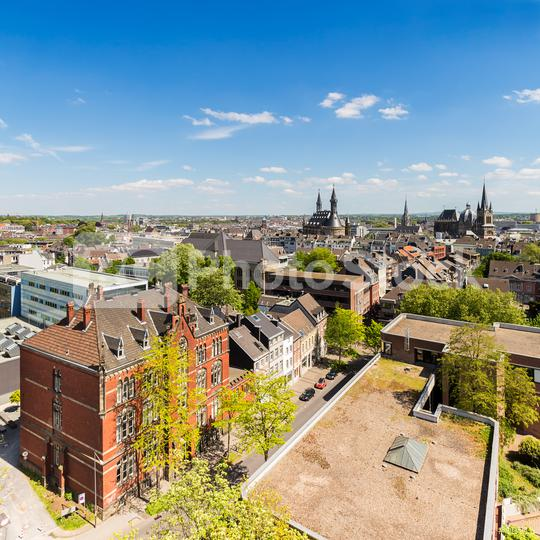aachen (Aix-la-Chapelle) city skyline  : Stock Photo or Stock Video Download rcfotostock photos, images and assets rcfotostock | RC-Photo-Stock.: