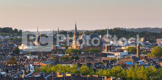 Aachen at sunset  : Stock Photo or Stock Video Download rcfotostock photos, images and assets rcfotostock   RC-Photo-Stock.: