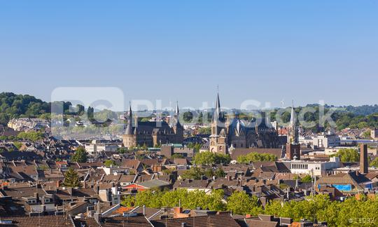 Aachen city at summer  : Stock Photo or Stock Video Download rcfotostock photos, images and assets rcfotostock | RC-Photo-Stock.: