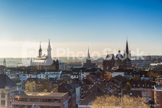 Aachen city in the morning  : Stock Photo or Stock Video Download rcfotostock photos, images and assets rcfotostock | RC-Photo-Stock.: