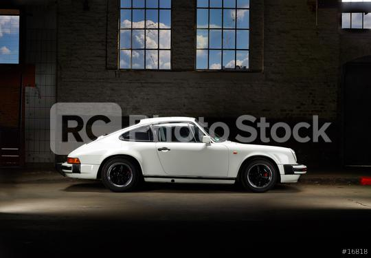 Aachen, Germany, August 16, 2013: Sideview shot of an historic Porsche 911 SC from 1981. The Porsche 911 SC had the wider body of the Porsche 911 Carrera. Also the 81-83 had side direction idicators.  : Stock Photo or Stock Video Download rcfotostock photos, images and assets rcfotostock | RC-Photo-Stock.: