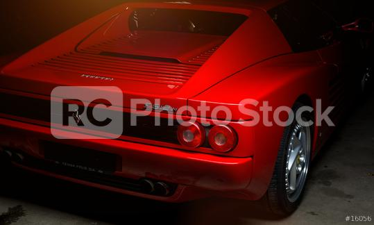 Aachen, Germany, June 14, 2013: Arranged Street shot of an historic Ferrari 512B testarossa Car.   : Stock Photo or Stock Video Download rcfotostock photos, images and assets rcfotostock   RC-Photo-Stock.: