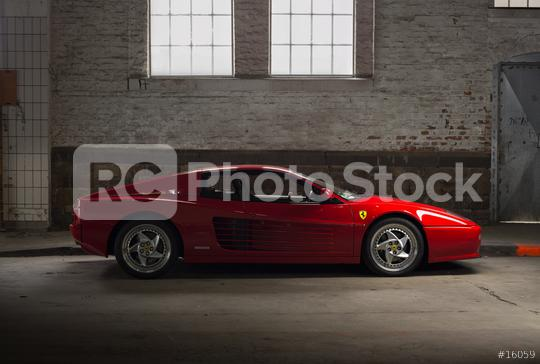Aachen, Germany, June 14, 2013: Arranged Street shot of an historic Ferrari 512B testarossa Car.   : Stock Photo or Stock Video Download rcfotostock photos, images and assets rcfotostock | RC-Photo-Stock.: