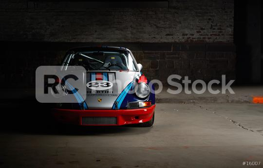 Aachen, Germany, June 14, 2013: Arranged Street shot of an historic Martini racing Porsche 911.   : Stock Photo or Stock Video Download rcfotostock photos, images and assets rcfotostock | RC-Photo-Stock.: