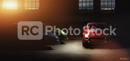 Aachen, Germany, June 14, 2013: Arranged Street shot of an historic Porsche 911.   : Stock Photo or Stock Video Download rcfotostock photos, images and assets rcfotostock   RC-Photo-Stock.: