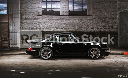 Aachen, Germany, June 14, 2013: Arranged Street shot of an historic Porsche 911.   : Stock Photo or Stock Video Download rcfotostock photos, images and assets rcfotostock | RC-Photo-Stock.: