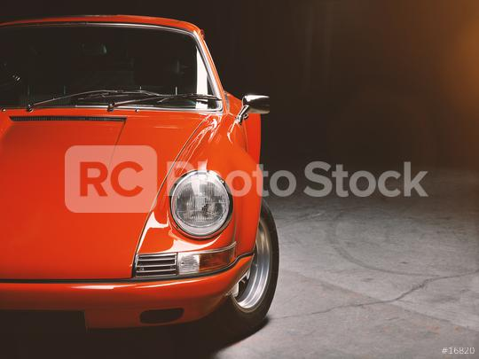 Aachen, Germany, June 14, 2013: Arranged Street shot of an historic Porsche 911.  Editorial, documentary, or private use only  : Stock Photo or Stock Video Download rcfotostock photos, images and assets rcfotostock | RC-Photo-Stock.: