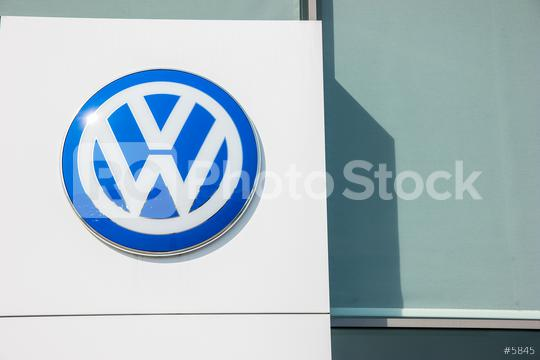 AACHEN, GERMANY MARCH, 2017: Volkswagen VW logo on a store facade. Volkswagen is a famous European car manufacturer company based on Germany.  : Stock Photo or Stock Video Download rcfotostock photos, images and assets rcfotostock | RC-Photo-Stock.: