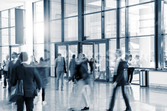 abstakt people in the lobby of a modern business center   : Stock Photo or Stock Video Download rcfotostock photos, images and assets rcfotostock | RC-Photo-Stock.: