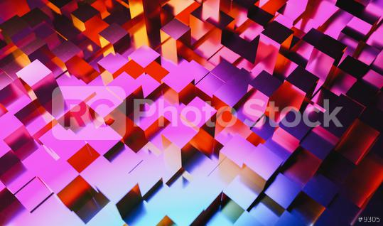 abstract background of colored cubes  : Stock Photo or Stock Video Download rcfotostock photos, images and assets rcfotostock   RC-Photo-Stock.: