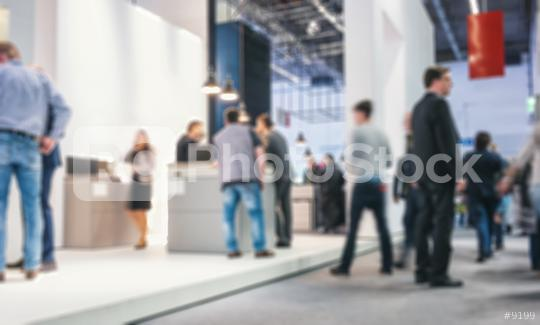 Abstract blurred people on a trade fair generic background with blur effect applied  : Stock Photo or Stock Video Download rcfotostock photos, images and assets rcfotostock | RC-Photo-Stock.: