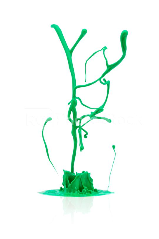 abstract green paint splashing isolated on white  : Stock Photo or Stock Video Download rcfotostock photos, images and assets rcfotostock | RC-Photo-Stock.: